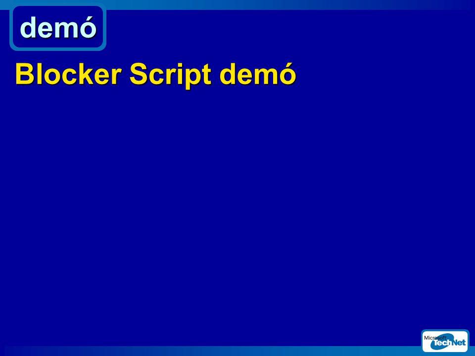 demó Blocker Script demó