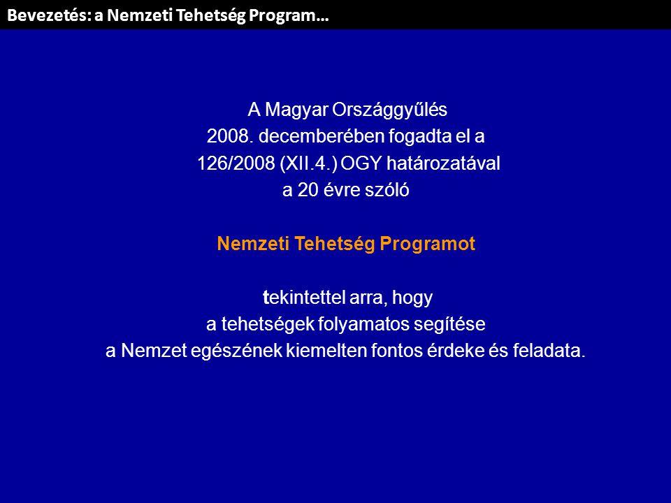 Nemzeti Tehetség Programot