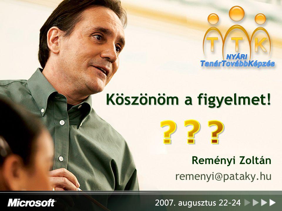 Reményi Zoltán remenyi@pataky.hu