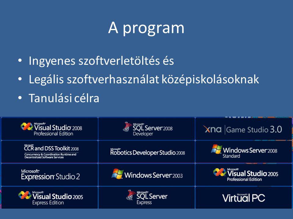 A program Ingyenes szoftverletöltés és