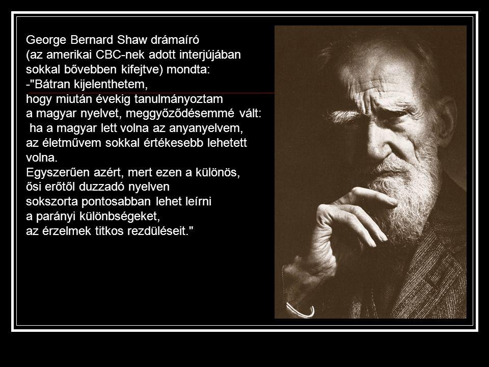 George Bernard Shaw drámaíró