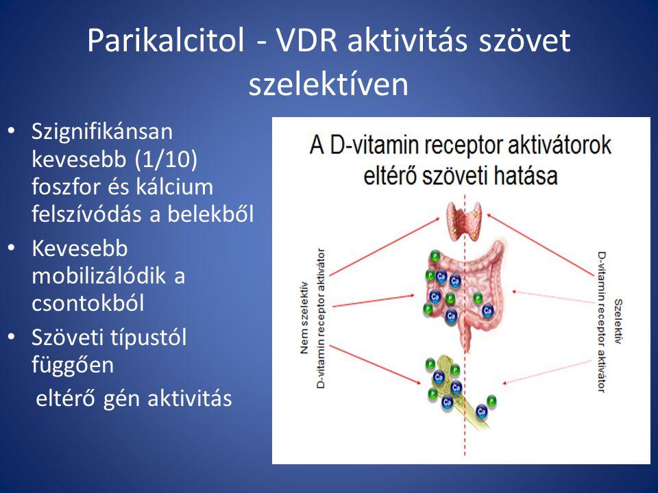Parikalcitol - VDR aktivitás szövet szelektíven