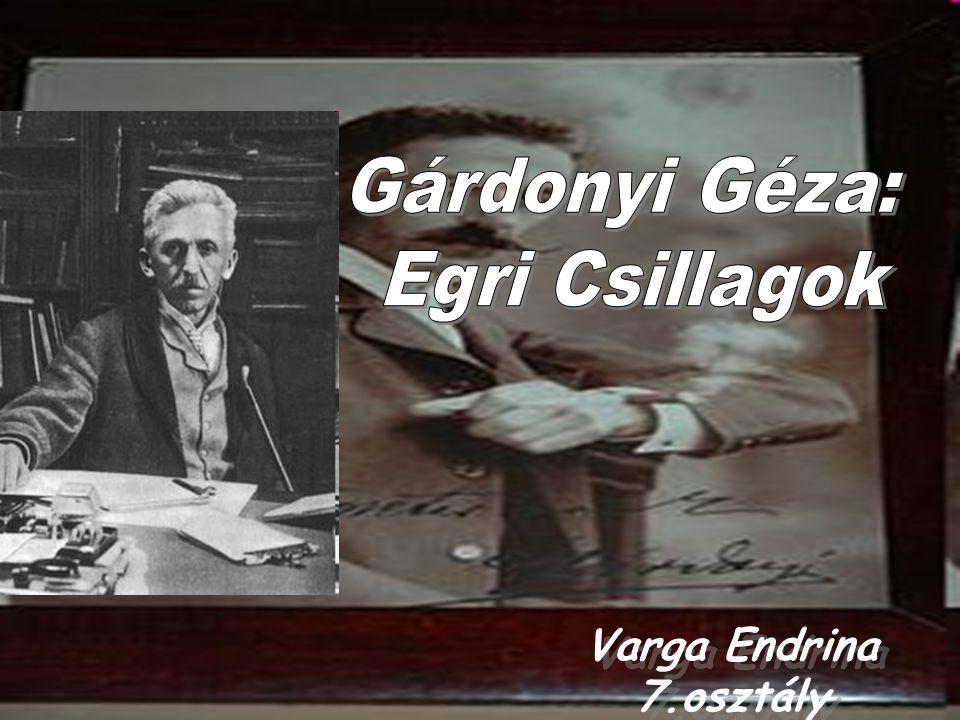 Gárdonyi Géza: Egri Csillagok Varga Endrina 7.osztály