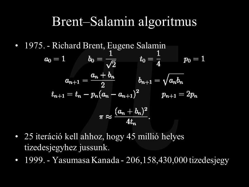 Brent–Salamin algoritmus