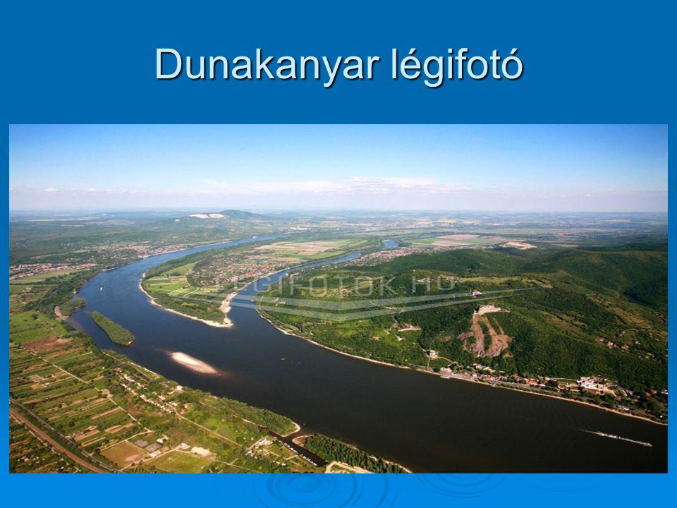 Dunakanyar légifotó