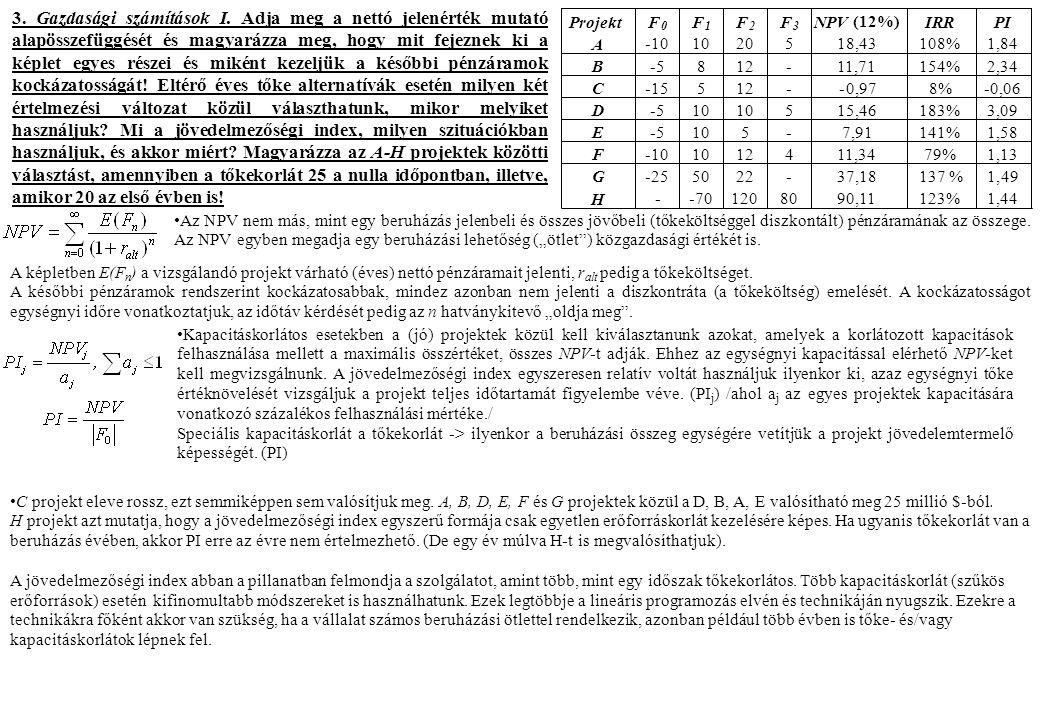 3. Gazdasági számítások I