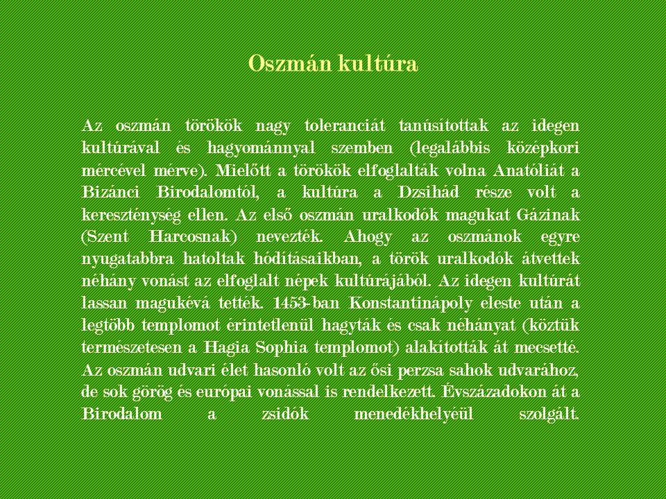 Oszmán kultúra
