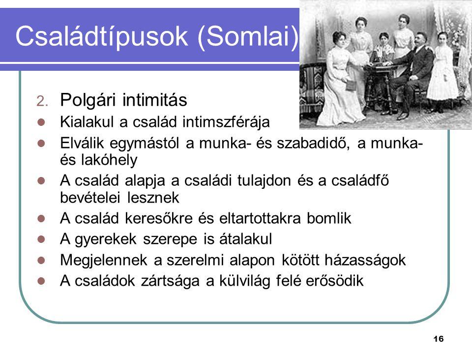 Családtípusok (Somlai)