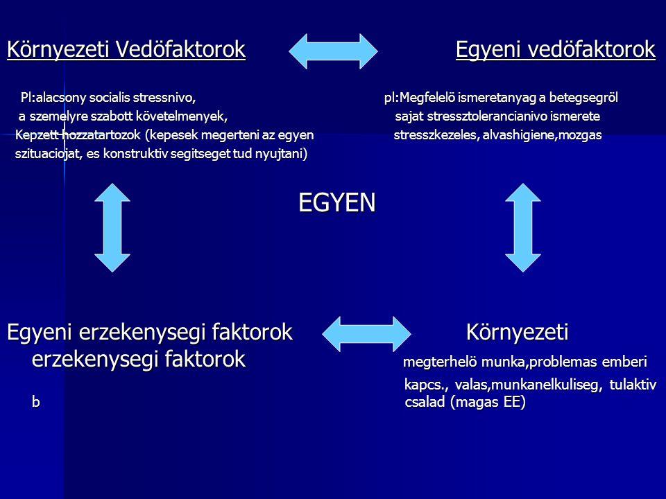 Környezeti Vedöfaktorok Egyeni vedöfaktorok