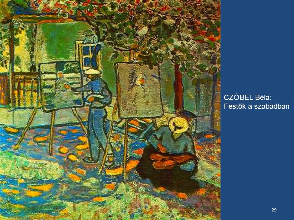 Nyolcak festészete kiállítás, Pécs