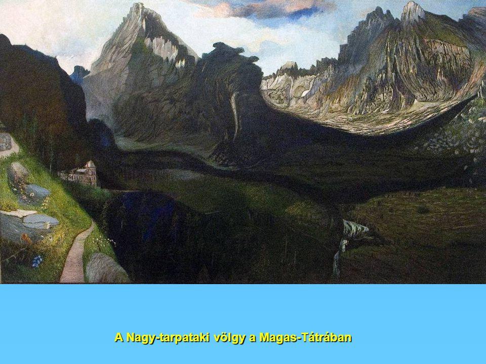 A Nagy-tarpataki völgy a Magas-Tátrában