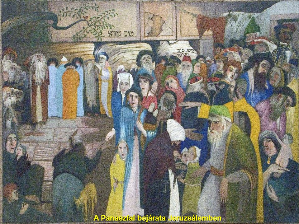 A Panaszfal bejárata Jeruzsálemben