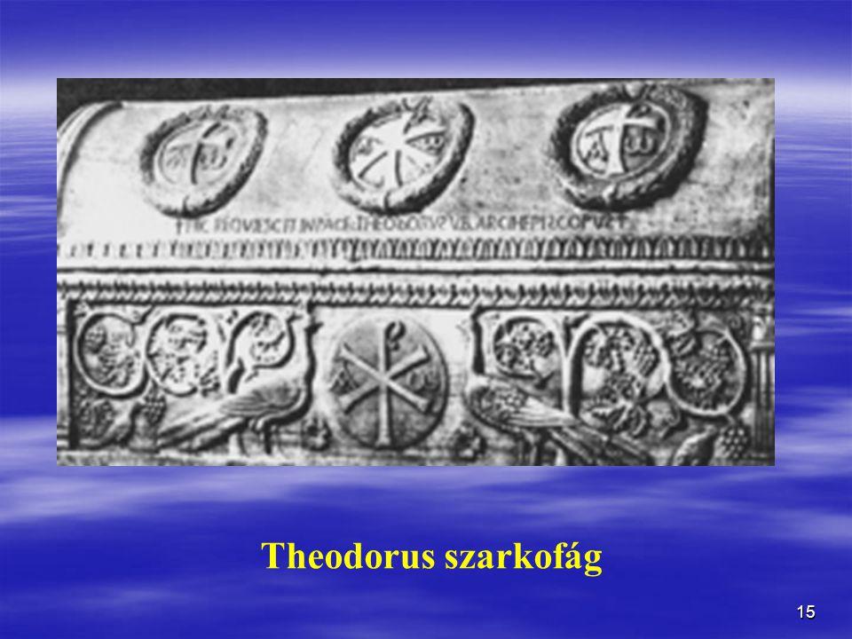 Theodorus szarkofág