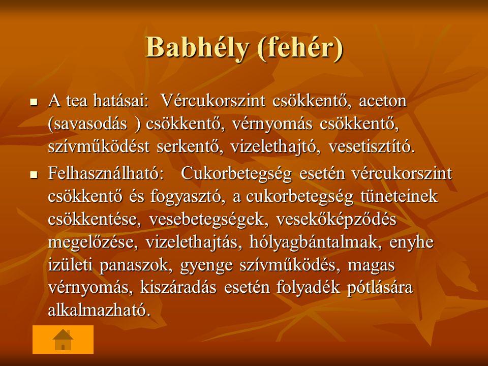 Babhély (fehér)