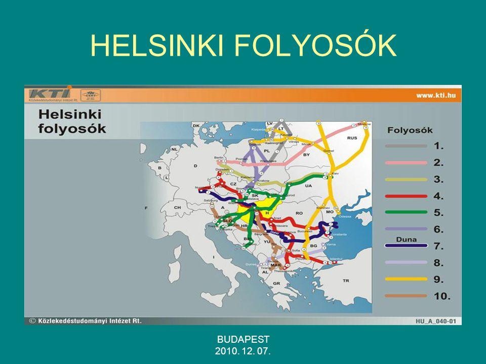 HELSINKI FOLYOSÓK BUDAPEST 2010. 12. 07.