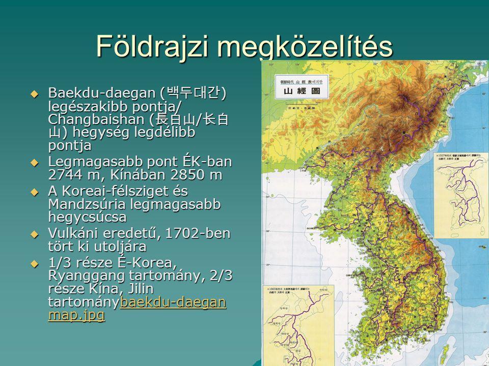 Földrajzi megközelítés