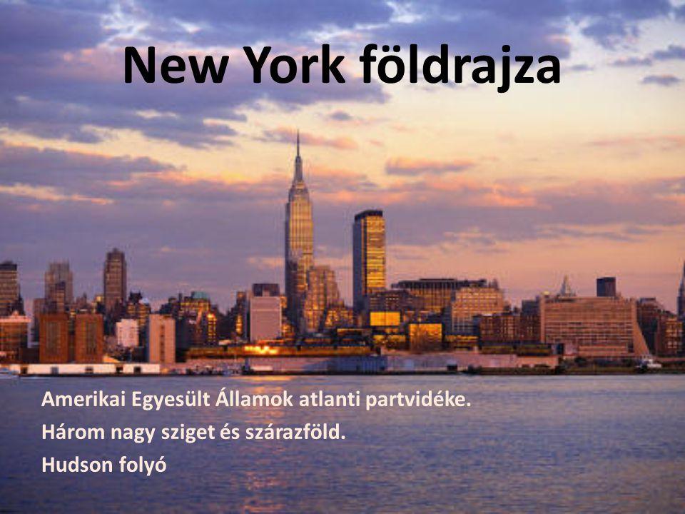 New York földrajza Amerikai Egyesült Államok atlanti partvidéke.