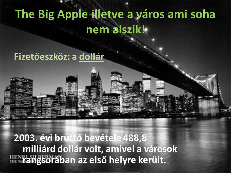 The Big Apple illetve a város ami soha nem alszik!