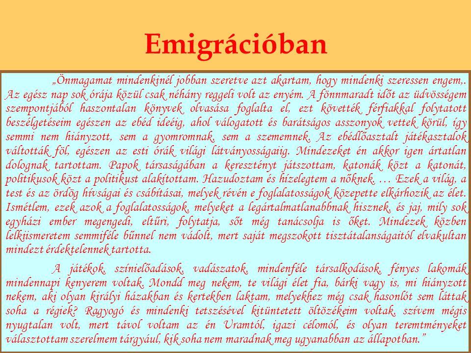 Emigrációban