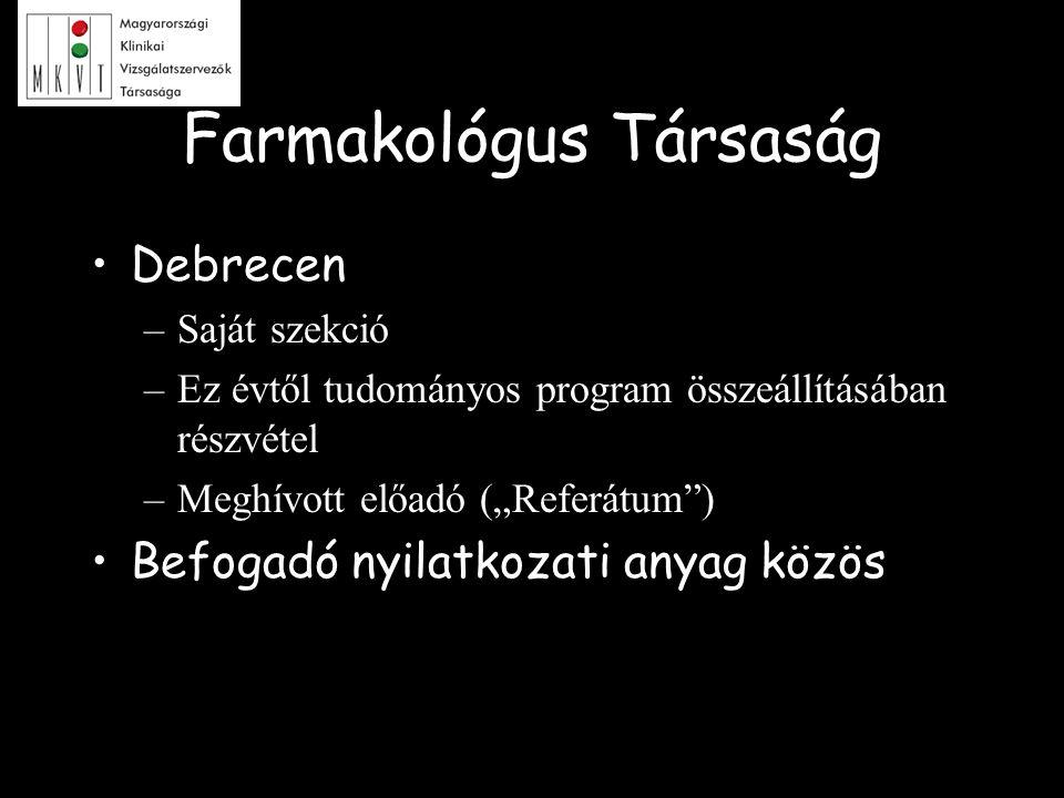 Farmakológus Társaság
