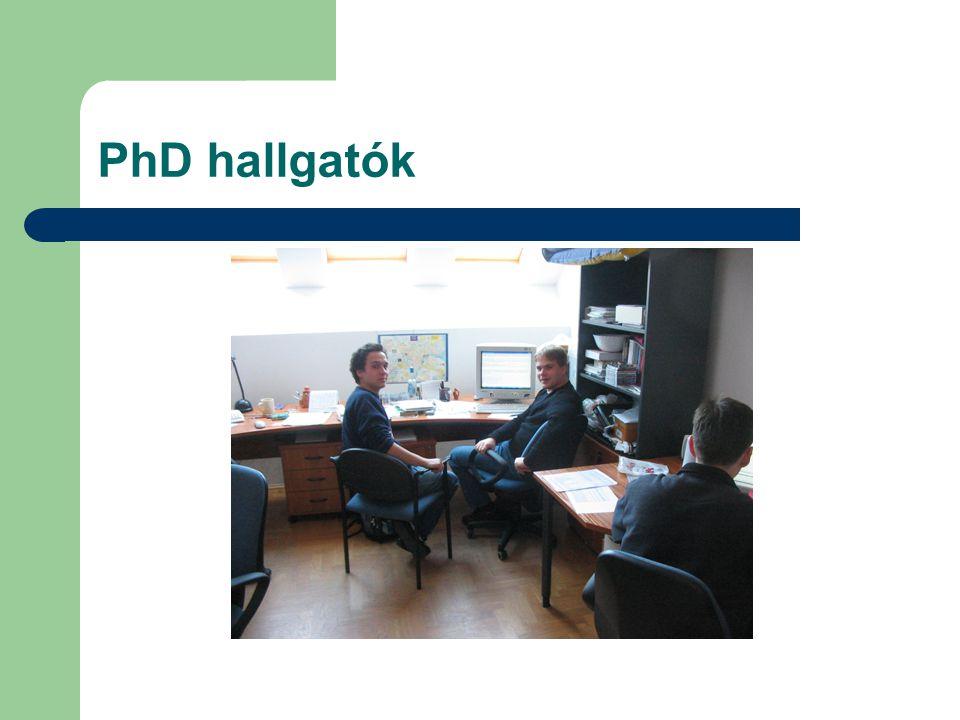 PhD hallgatók