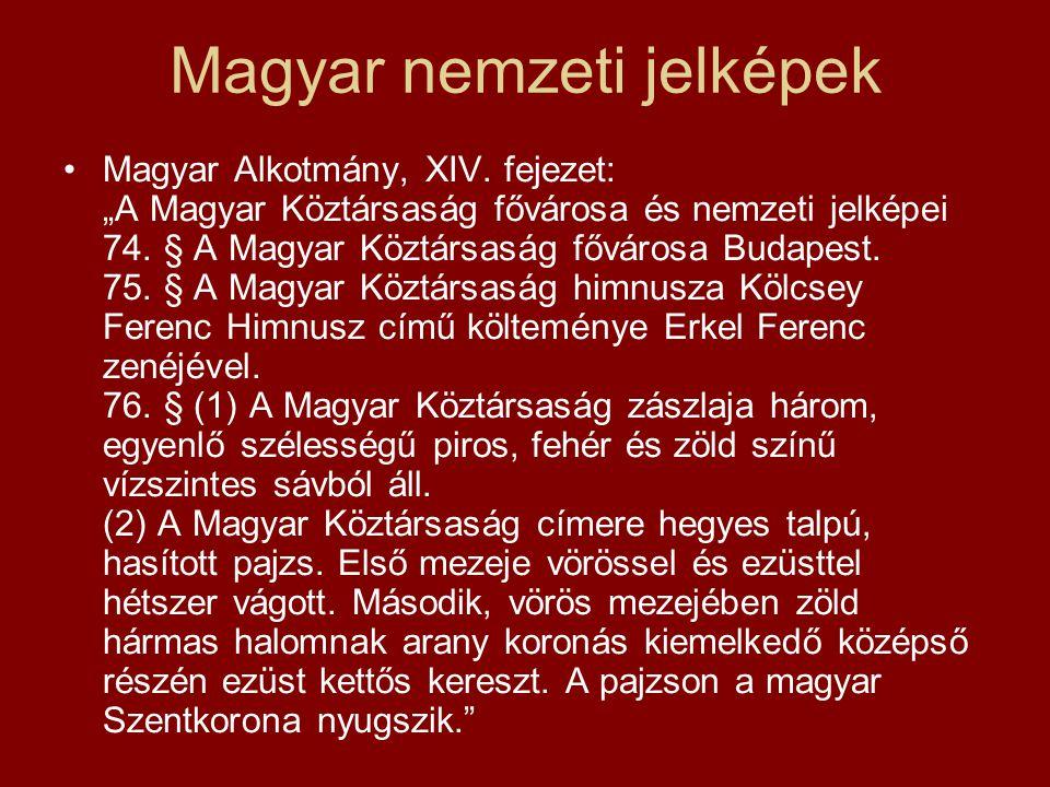 Magyar nemzeti jelképek