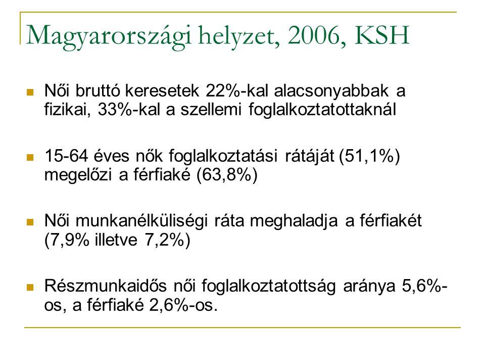 Magyarországi helyzet, 2006, KSH
