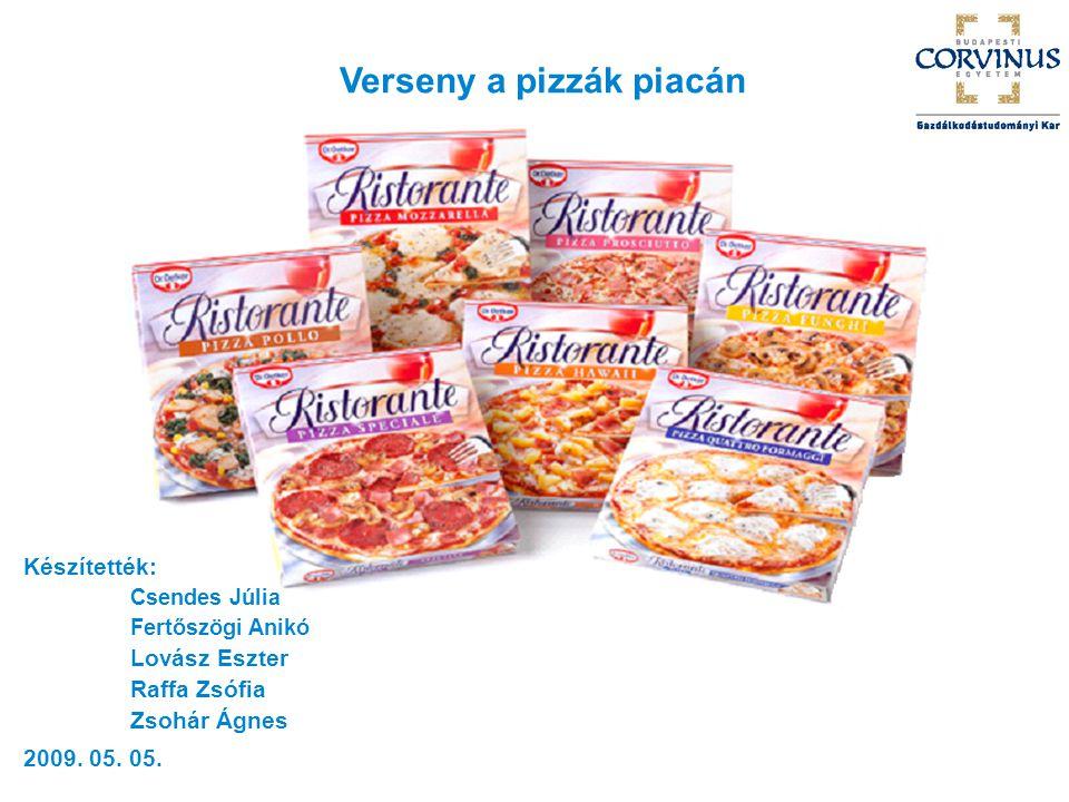 Verseny a pizzák piacán