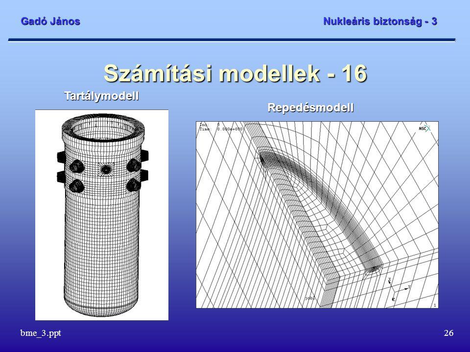 Számítási modellek - 16 Tartálymodell Repedésmodell bme_3.ppt