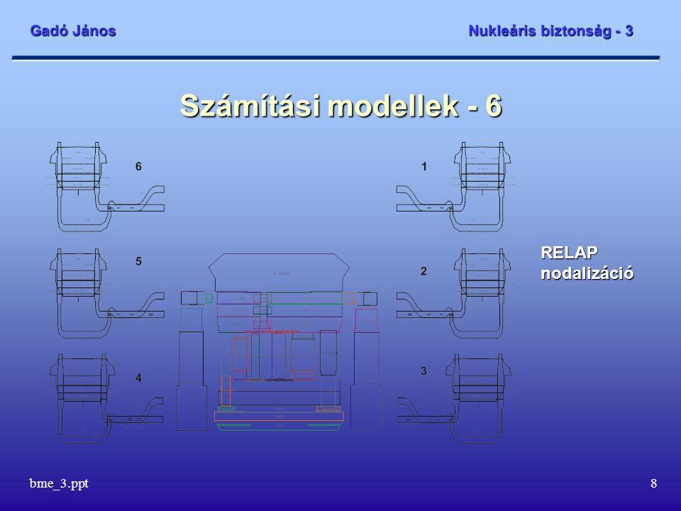 Számítási modellek - 6 RELAP nodalizáció bme_3.ppt
