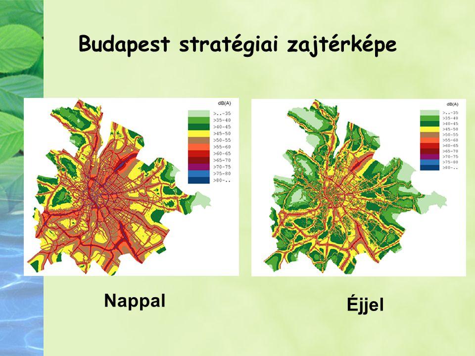 Budapest stratégiai zajtérképe