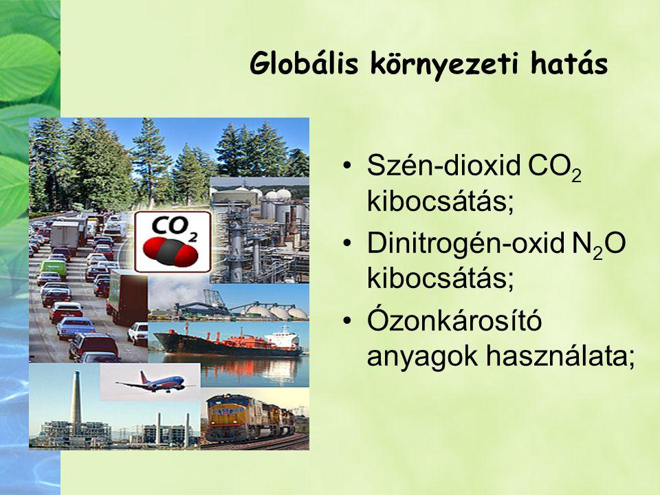 Globális környezeti hatás