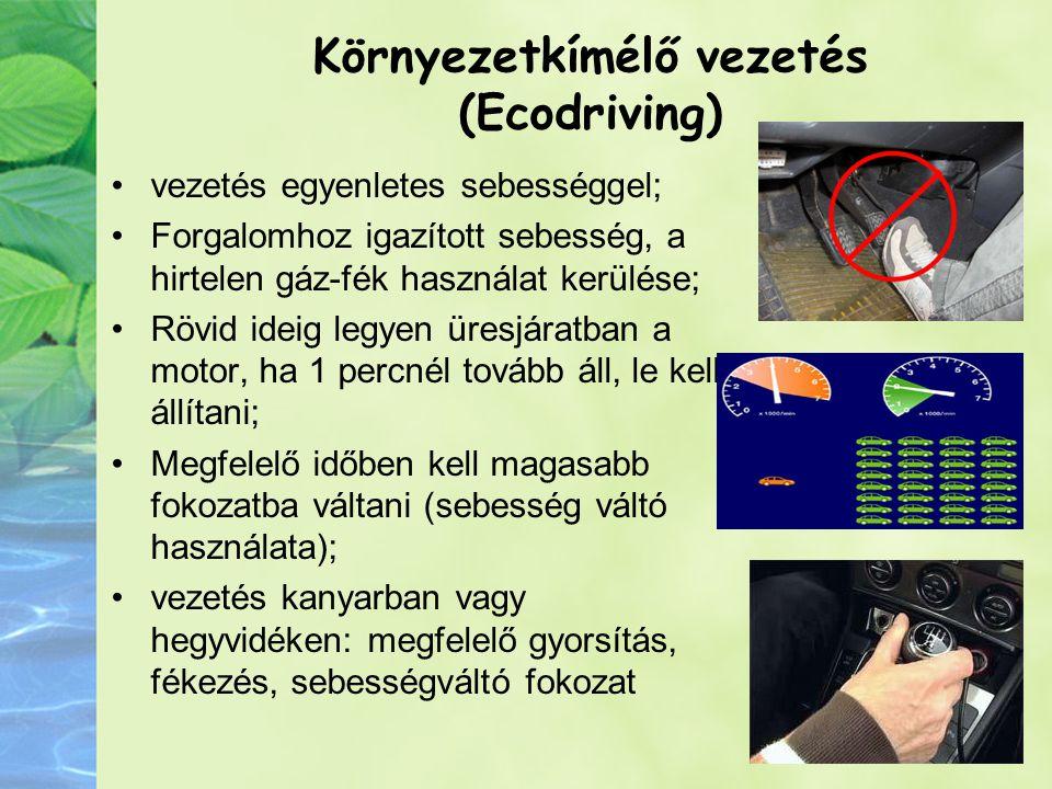 Környezetkímélő vezetés (Ecodriving)