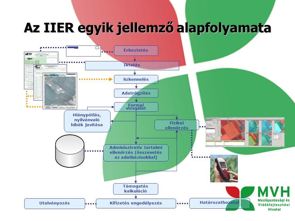 Az IIER egyik jellemző alapfolyamata