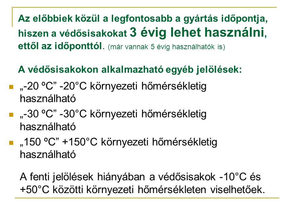 """""""-20 ºC -20°C környezeti hőmérsékletig használható"""