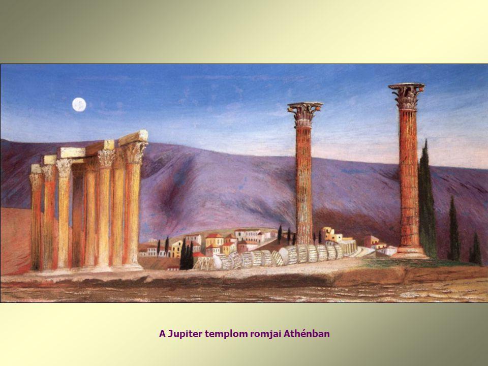 A Jupiter templom romjai Athénban