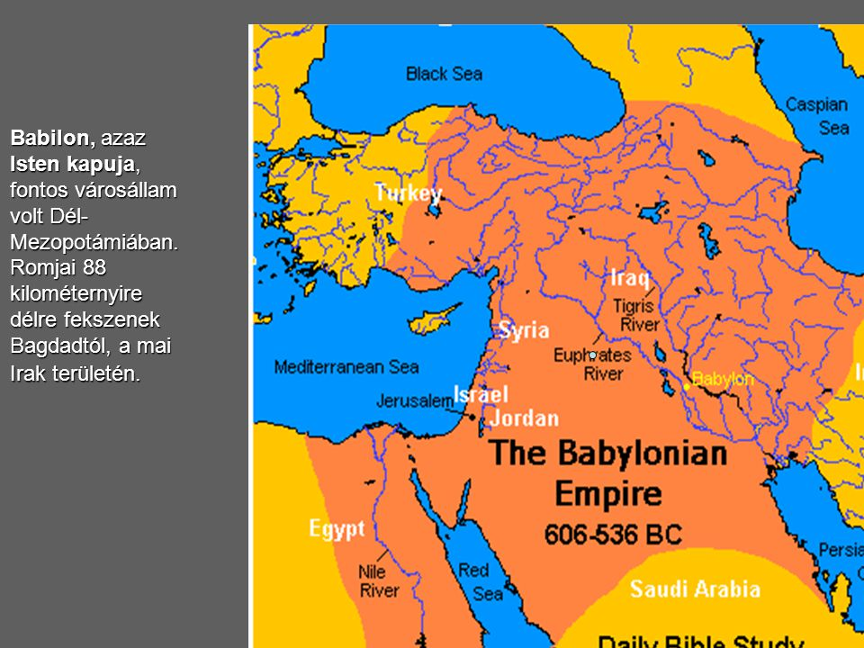 Babilon, azaz Isten kapuja, fontos városállam volt Dél-Mezopotámiában