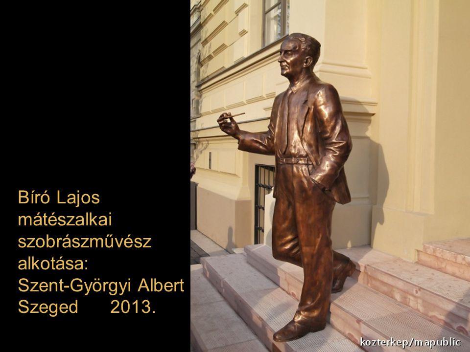 Bíró Lajos mátészalkai szobrászművész alkotása: