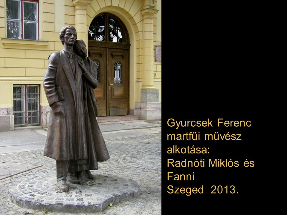 Gyurcsek Ferenc martfűi művész alkotása: