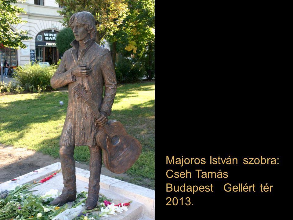 Majoros István szobra: Cseh Tamás