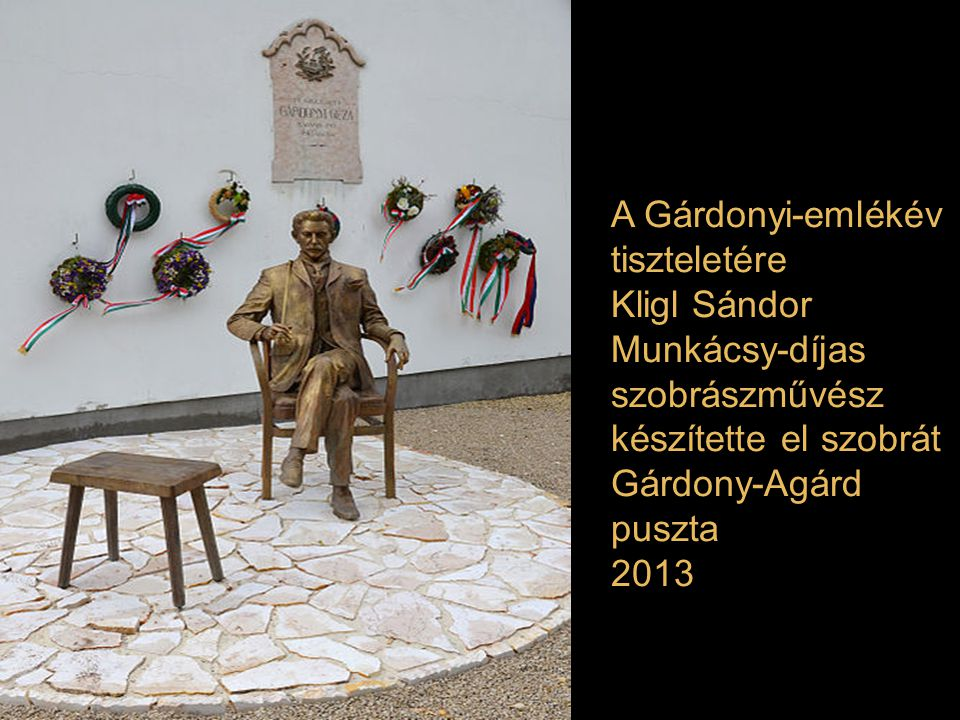 A Gárdonyi-emlékév tiszteletére