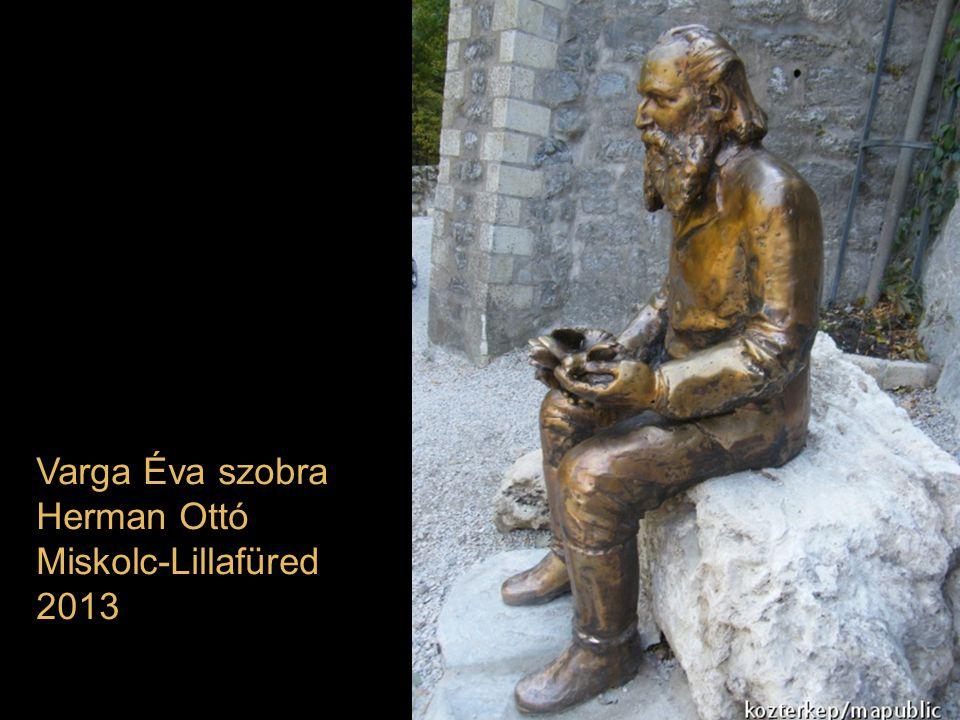Varga Éva szobra Herman Ottó Miskolc-Lillafüred 2013