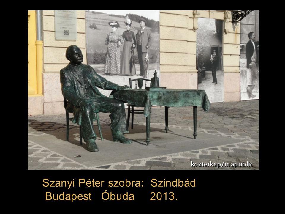Szanyi Péter szobra: Szindbád