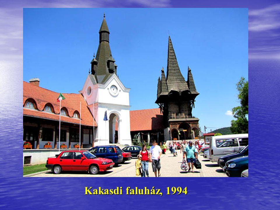 Kakasdi faluház, 1994