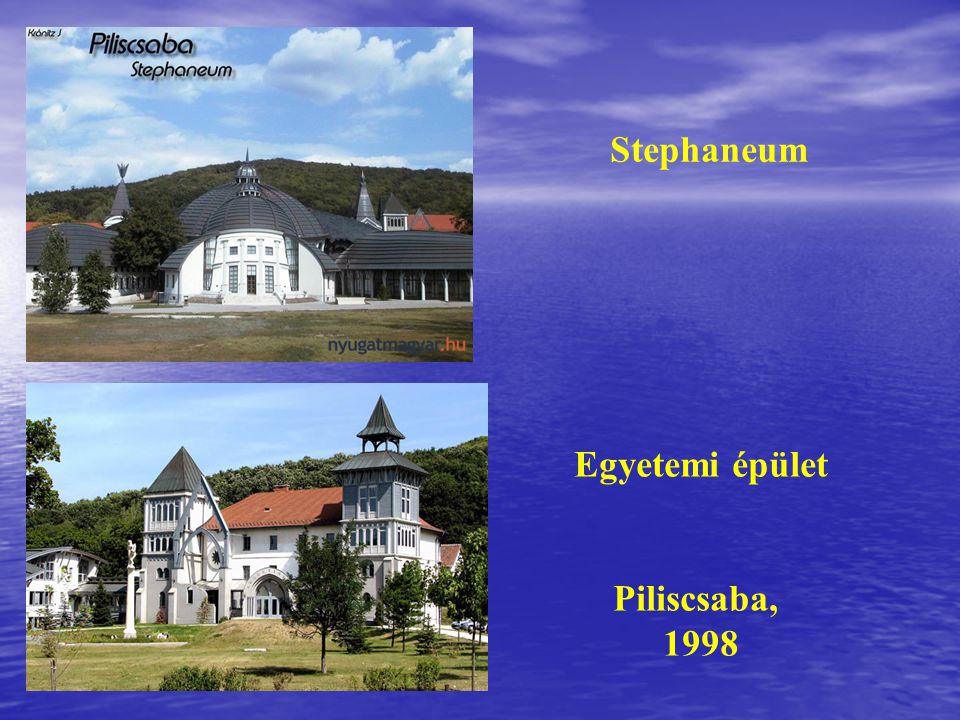 Stephaneum Egyetemi épület Piliscsaba, 1998