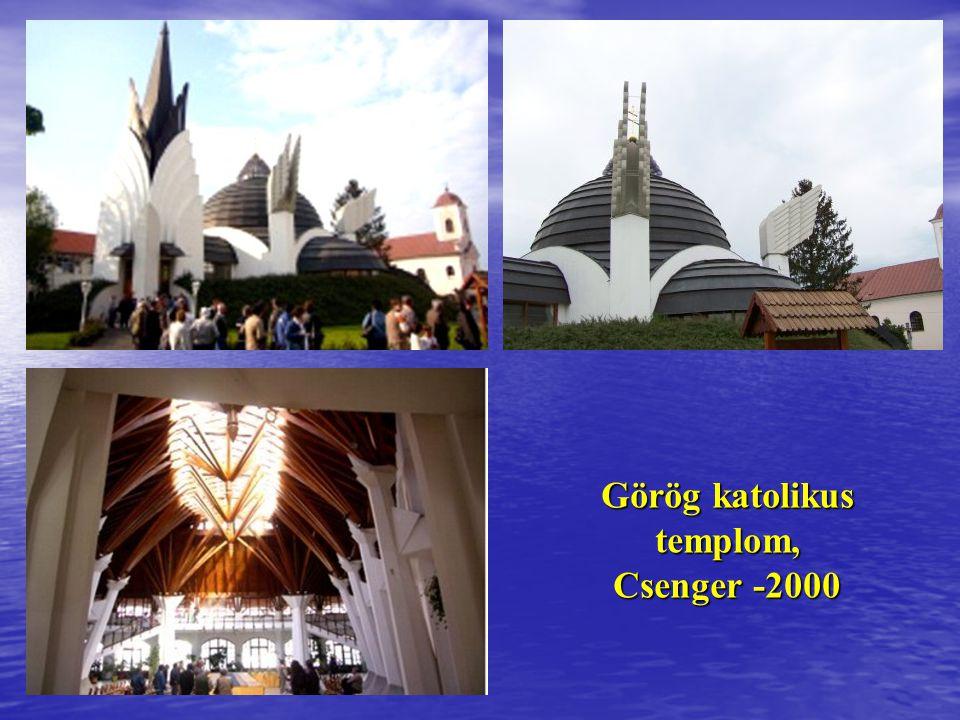 Görög katolikus templom, Csenger -2000