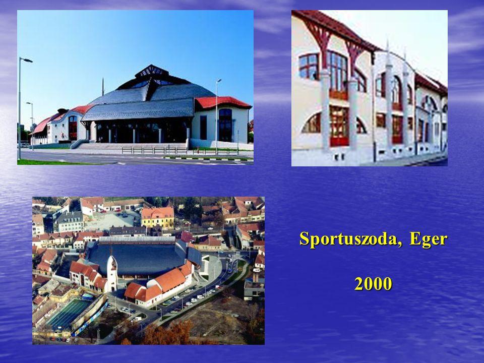 Sportuszoda, Eger 2000