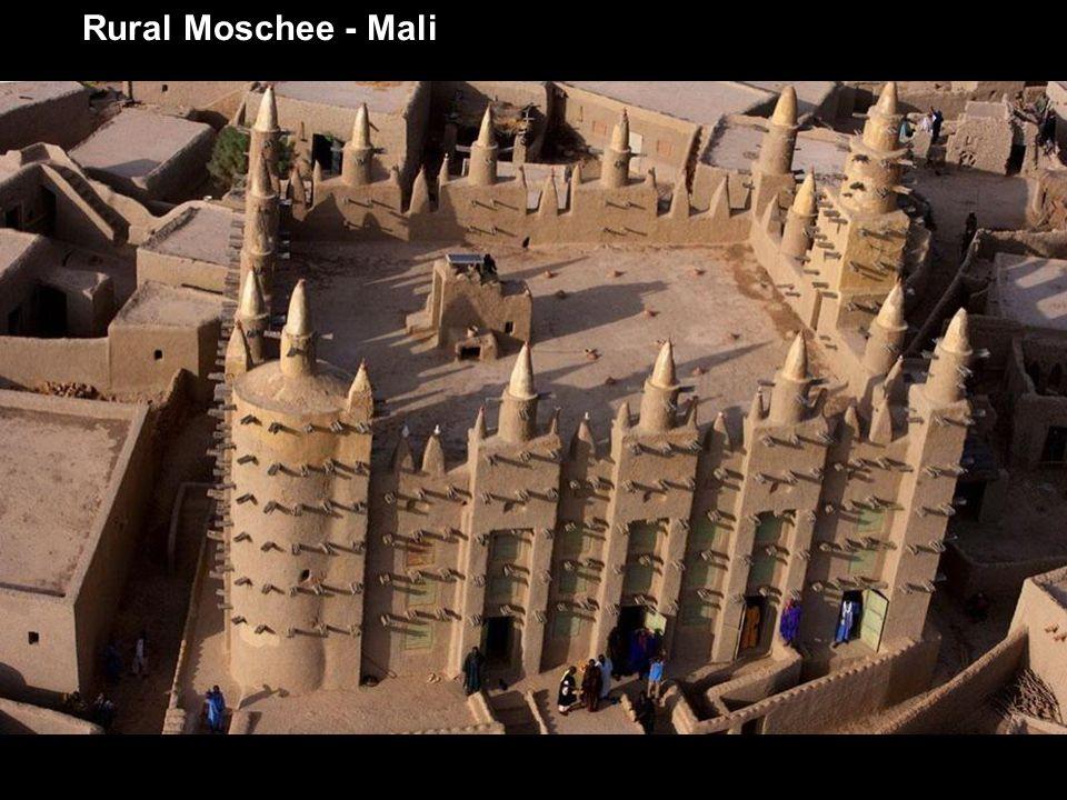 Rural Moschee - Mali