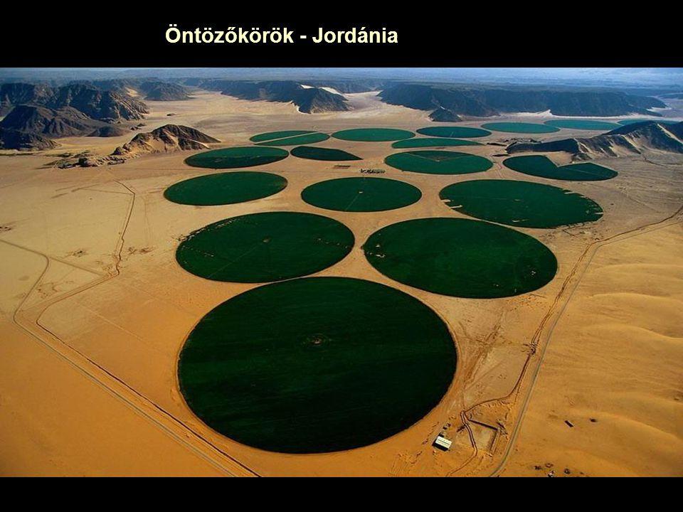 Öntözőkörök - Jordánia