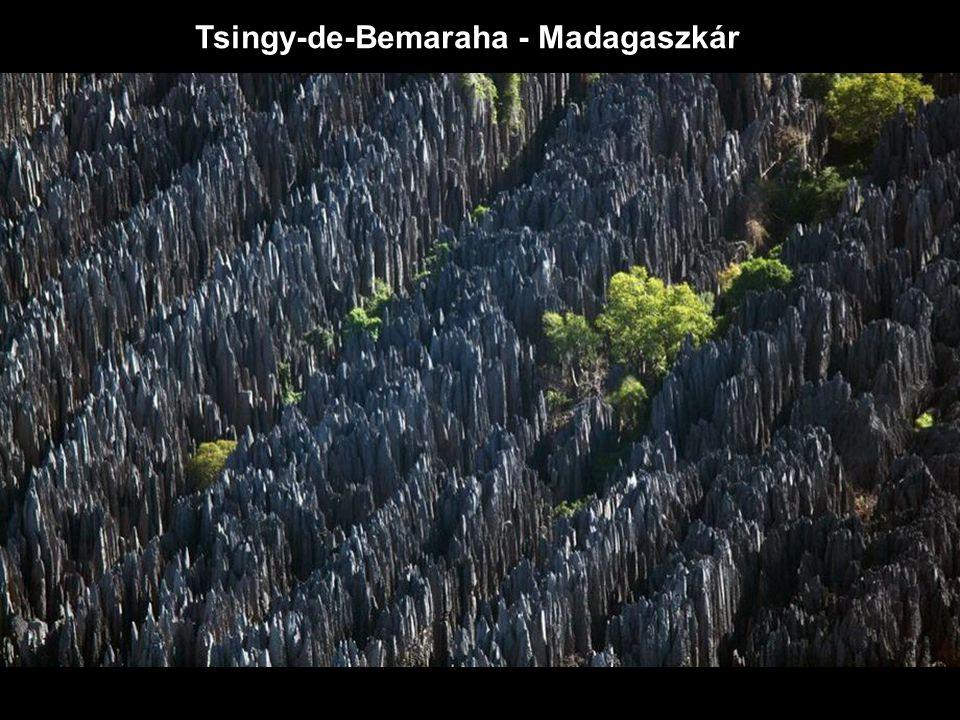 Tsingy-de-Bemaraha - Madagaszkár